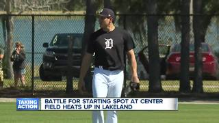 Tigers center field spot up for grabs