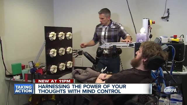 Harnessing the power of your thoughts with mind control