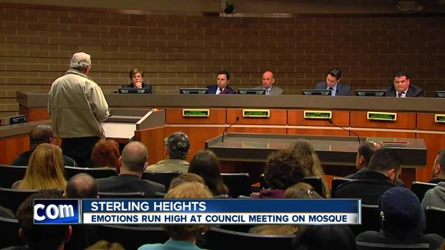 News conference on settlement in Sterling Heights mosque controversy