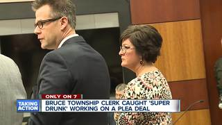 Clerk charged as Super Drunk wants plea deal