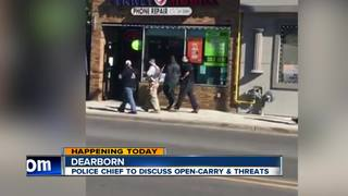 Dearborn police discuss open carry incidents