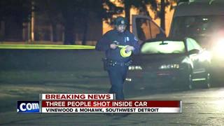 Detroit police investigate triple shooting