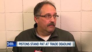 Pistons stand pat at trade deadline
