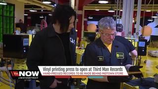 Jack White tours Third Man's new pressing plant