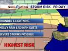 FORECAST: Stays mild, storms approach
