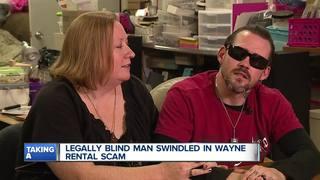 Legally blind man swindled in Wayne rental scam