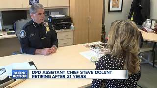 Detroit Police Assistant Chief Dolunt retires