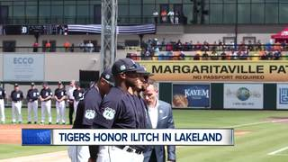 WATCH: Tigers honor Ilitch in Lakeland