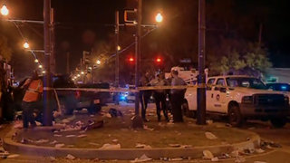 Truck plows into parade crowd in New Orleans