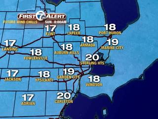FORECAST: Wind chills in the teens