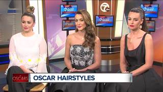 Oscar Hairstyles with Beauty Lounge
