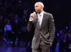 Hamilton gets emotional as Pistons retire No. 32