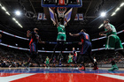 Late 5-pt. possession lifts Celtics over Pistons