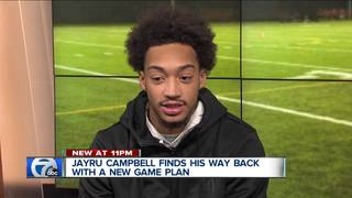 Jayru Campbell talks about his fall and rise