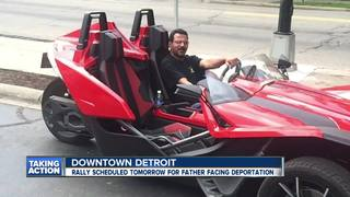 Rally Tuesday for father facing deportation
