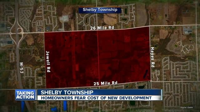 Shelby Twp. citizens outraged over development