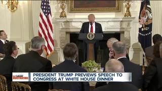 Trump looks to refocus his presidency
