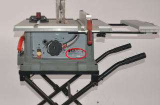Table saws recalled over collapsing risk