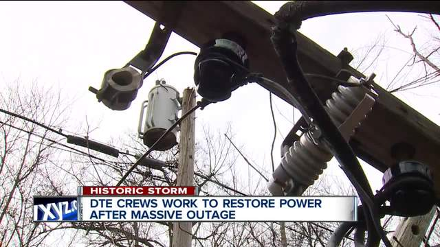 When will your power be restored? DTE Energy provides outage update