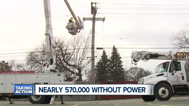 When Will Your Power Be Restored Dte Energy Provides Update On Outages