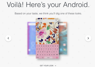 Android quiz gives you personalized home screen
