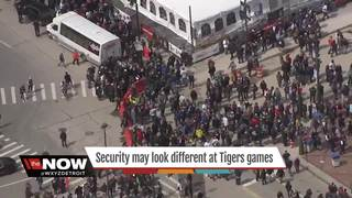 New proposal to boost security at Tigers games