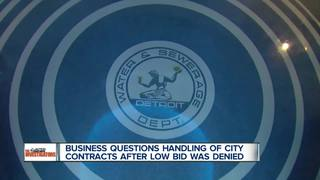 Company cries foul over city sewer contract