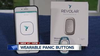 Wearable panic buttons provide security