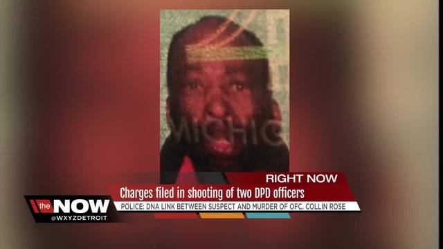 DNA links suspect to slain Detroit college officer