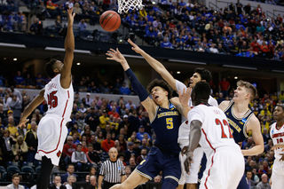 Photos from Michigan's win over Louisville