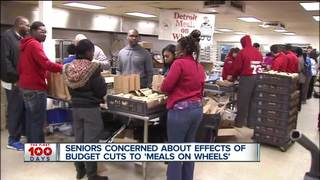 Proposed budget cuts could impact seniors meals