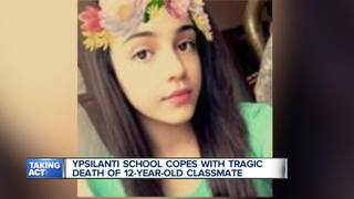 School copes with young student's tragic death
