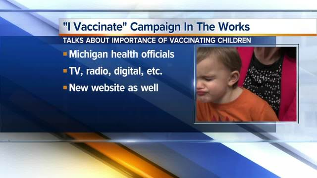MI  officials announce campaign encouraging parents to vaccinate children