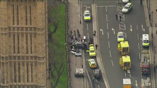 5 dead in vehicle, knife attack at Parliament