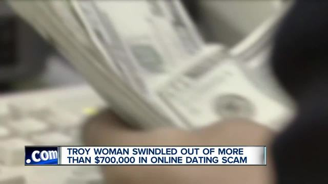 Metro Detroit woman scammed out of -703-000 by man she met online