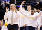 Michigan talked Super Bowl on way to Sweet 16