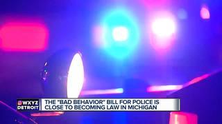 Senate approves police 'bad behavior' bill