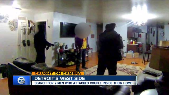 Search for 2 men who attacked couple inside home on Detroit-s west side