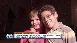 Grant Me Hope: Kenyon & Matthew are active boys