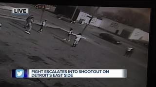 VIDEO: Shots fired outside family restaurant