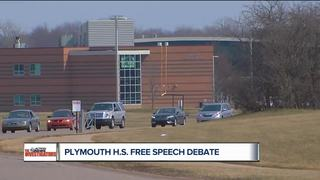 School policy prevails over student free speech