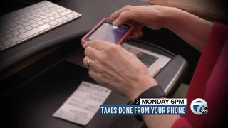 Monday at 6PM: Taxes on your phone