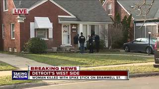Man reportedly kills woman with spike stick