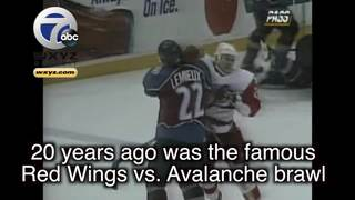 Remembering Red Wings, Avs fight 20 years later
