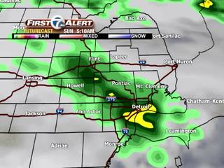 FORECAST: Showers and some thunder move through