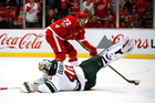 Red Wings beat reeling Wild in OT