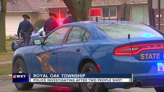 2 injured after shooting in Royal Oak Township