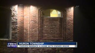 88-year-old man watches as men ransack home