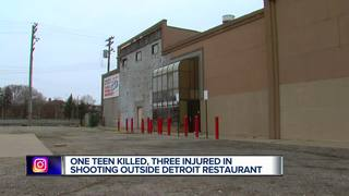 Four teens shot, one killed in Detroit overnight