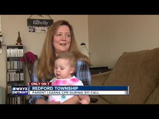 Exclusive: Baby girl saved by Redford 911